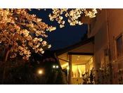 ホテル外観 春(11)