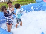 【夏・ホテルイベント】ウォータースライダーやバブルバズーカなどが楽しめるウォーターパーク♪