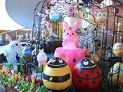 【スプリングフェスタ】イースターカーニバル♪4月中旬頃より館内が色とりどりのお花やタマゴで大変身!