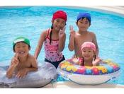 【屋内温水プール】温水プールだから雨でも夏以外でも1年中お楽しみいただけます♪