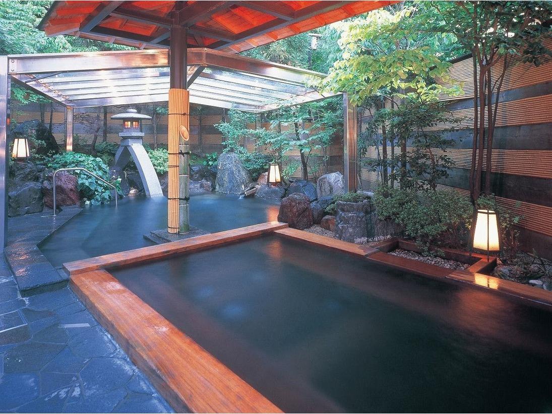 殿方庭園風呂