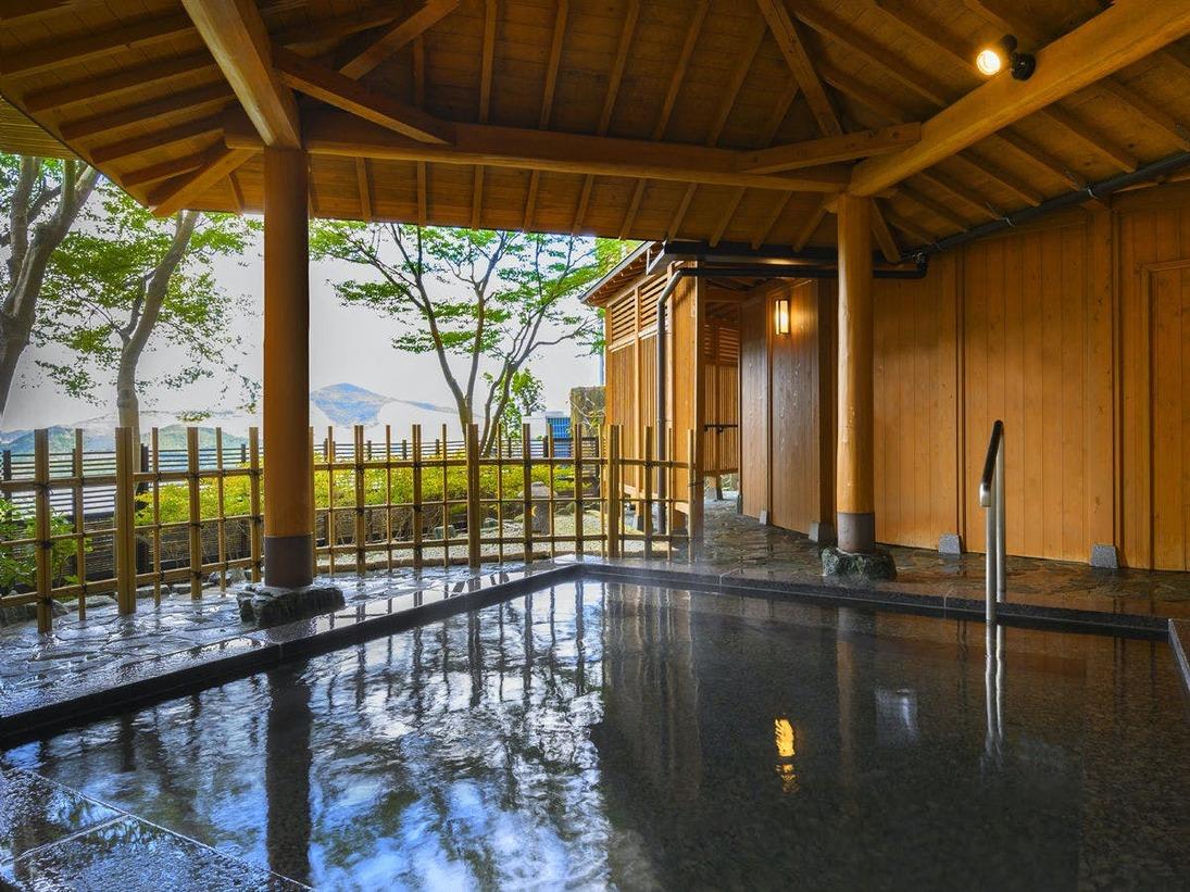 【大浴場】星を眺めのんびり寛げる露天風呂