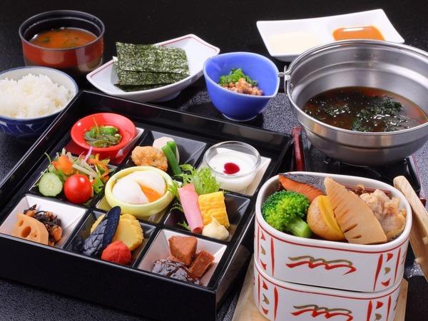 食材にこだわった身体に優しい和朝食