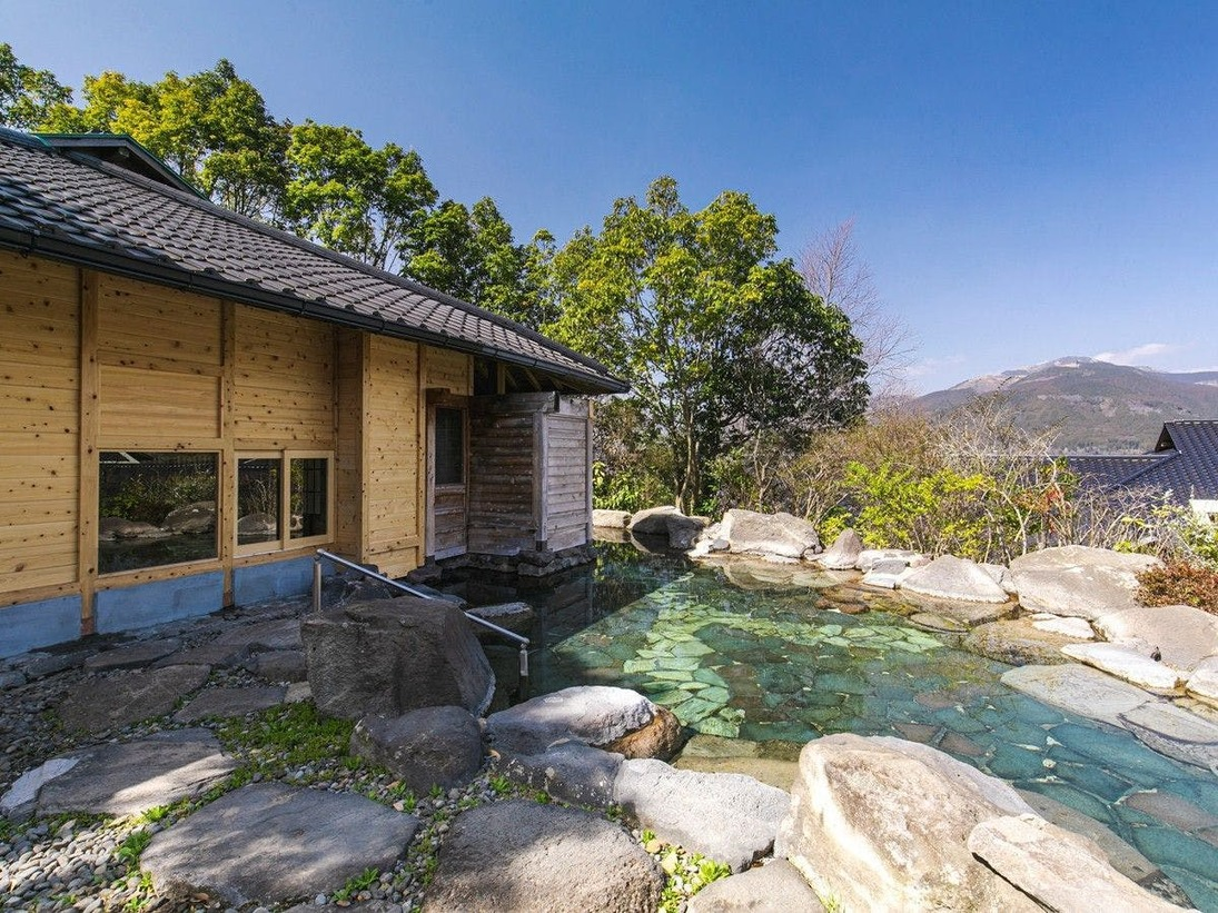 大浴場(天心の湯)|露天岩風呂
