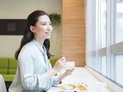 【朝食サービス】利用イメージ