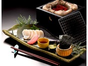 【別注料理】平貝の磯辺焼き