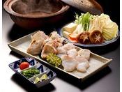 【お料理一例】幻の高級魚と呼ばれる「クエ」。たっぷりと脂身がのった白身をしっかりと味わえる一品。