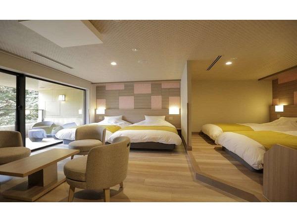 客室/特別室(4ベット)58平米(禁煙)