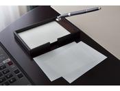 原稿用紙を模したメモ用紙