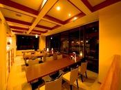 レストラン【味処やまぼうし】の営業時間は朝食7:00~8:30、夕食時間帯17:00~21:30です。