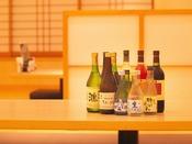 岩手の地酒や大迫のワインなど、会話を一層盛り上げます。