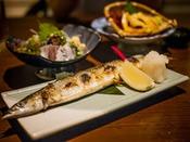 9月レストランで大人気の『秋刀魚の塩焼き』例年ですと11月初旬位まで美味しく楽しめますよ♪