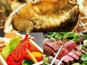 鮑★牛★イセエビを貴方がプロデュース♪【選べる食材&お好みの調理法】憧れのオーダーメイドプラン