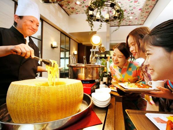 【朝食バイキング】とろ~りチーズ