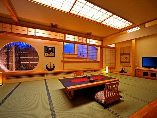 温かみのあるレトロな和室。
