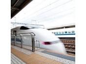 名古屋まで新幹線で12分