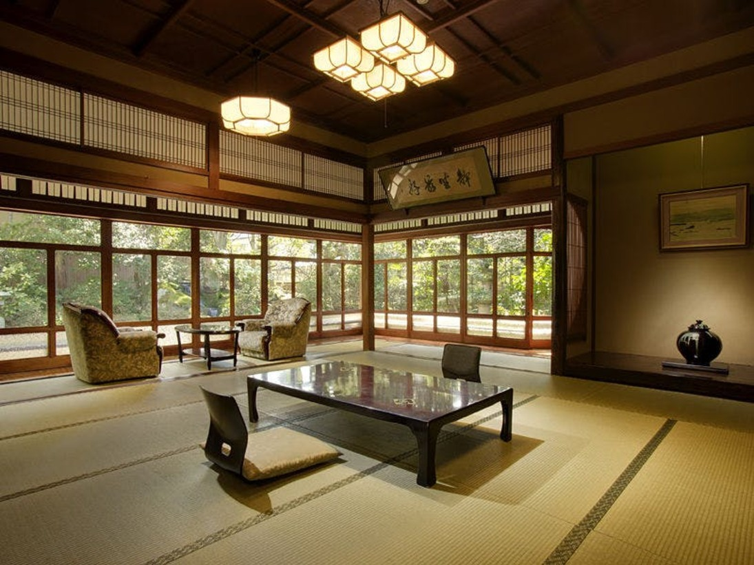 幽泉亭・紅梅閣/バス・トイレ付二間続き特別室