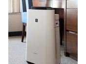 全室に加湿空気清浄機を完備