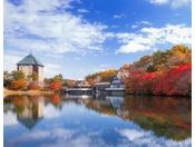 【外観】秋の青森屋