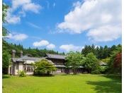【旧渋沢邸】明治の名工による和風建築と増築された洋風建築からなる貴重な建物