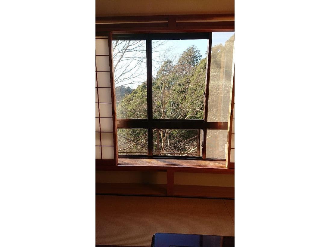 西館客室からの景色お部屋によってそれぞれ違った景色が見れます