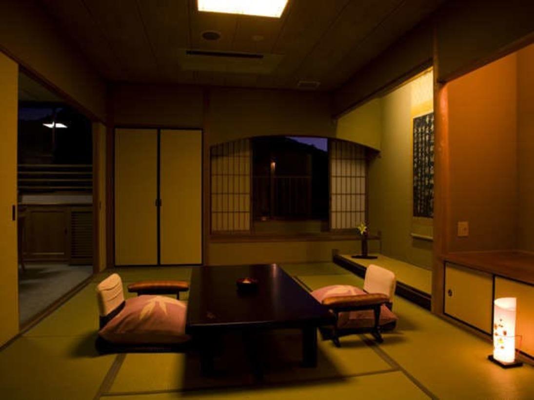 高野槇の露天風呂付・和洋室【特別室】
