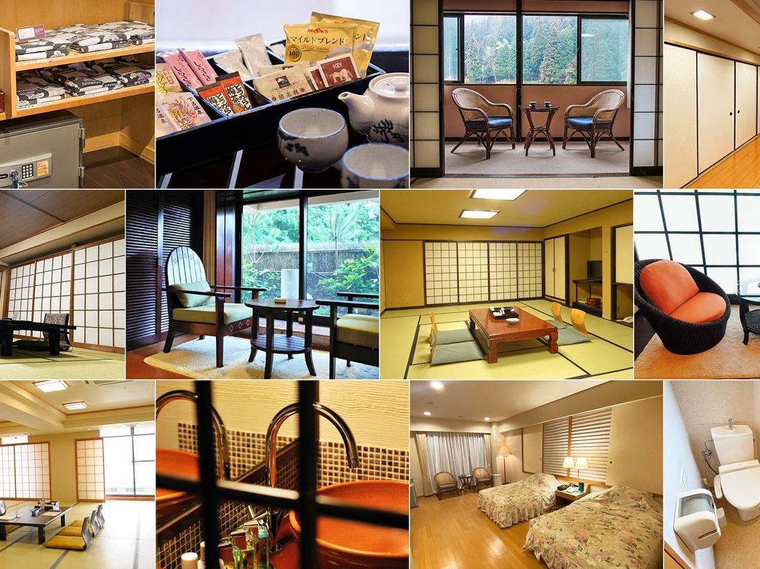 お値打ち☆お任せ客室 ご人数に合わせたお部屋をご用意いたします。