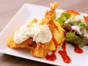 ハントンライス(イメージ)【1Fレストラン朝食◆6:30~9:30(LO9:00)】金沢のB級グルメ。オムライスにエビフライと白身魚のフライをトッピング。