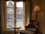 特別な部屋からはこんな眺めも・・・