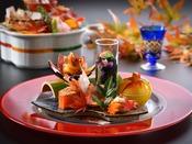 会席料理「奏」 ※写真は2020年10月から2021年3月までのイメージとなります。
