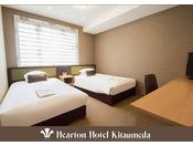 110cm ×198cm (シモンズ社製)ベッド×2をご用意。ご家族やご友人と楽しいひとときを!