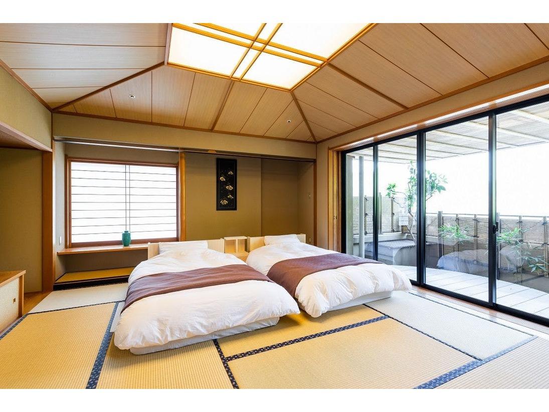 【客室】和室露天風呂付き45平米(禁煙)