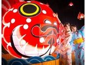 【しがっこ金魚まつり】全長3mの巨大な金魚ねぷたが登場!