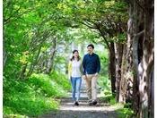 【散策】季節を感じながらのんびりと散策。