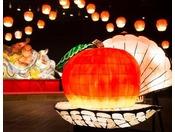 【じゃわめぐりんご×ほたて祭り(秋)】「りんごほたてねぶた」が登場