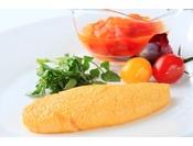 朝食(イメージ)/卵料理はオムレツ・フライドエッグ・スクランブルドエッグ・ポーチドエッグ・ボイルドエッグよりお選びいただけます。