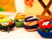 田老のお母さんたちの集まり『ゆいとりの会』、かわいい小銭入れの『結いっこぞうり』こちらも人気!