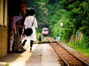 田老駅までの送迎は予めご予約下さい。三陸鉄道北リアス線『田老駅』へは約8km。