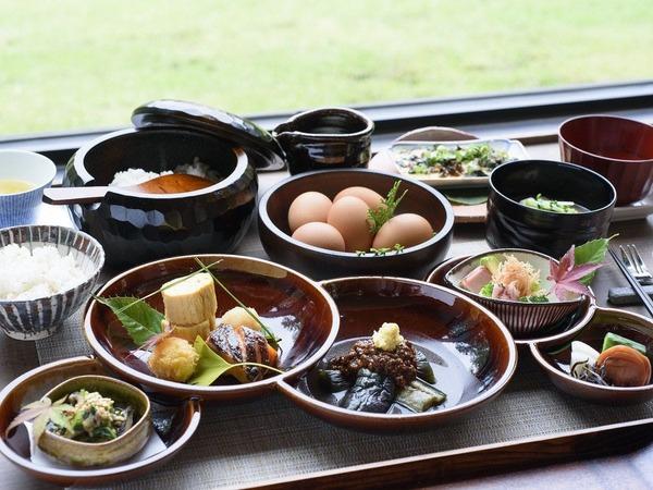 和食をベースにした朝食