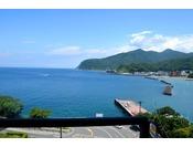 6F・駿河湾側客室からの眺望