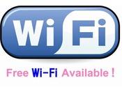 客室WiFi完備