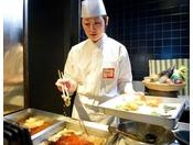 【のれそれ食堂】揚げたてサクサク天ぷらをどうぞ