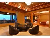 5階プレミアムフロア温泉露天風呂付特別室