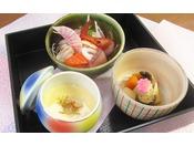 アラカルト(6) 刺身・茶碗蒸し・炊き合わせ
