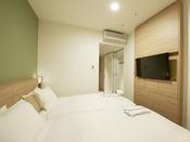 ツイン(15.0~15.7平米)・サータ社製ベッド2台(100cm)・加湿空気清浄器・wifi完備
