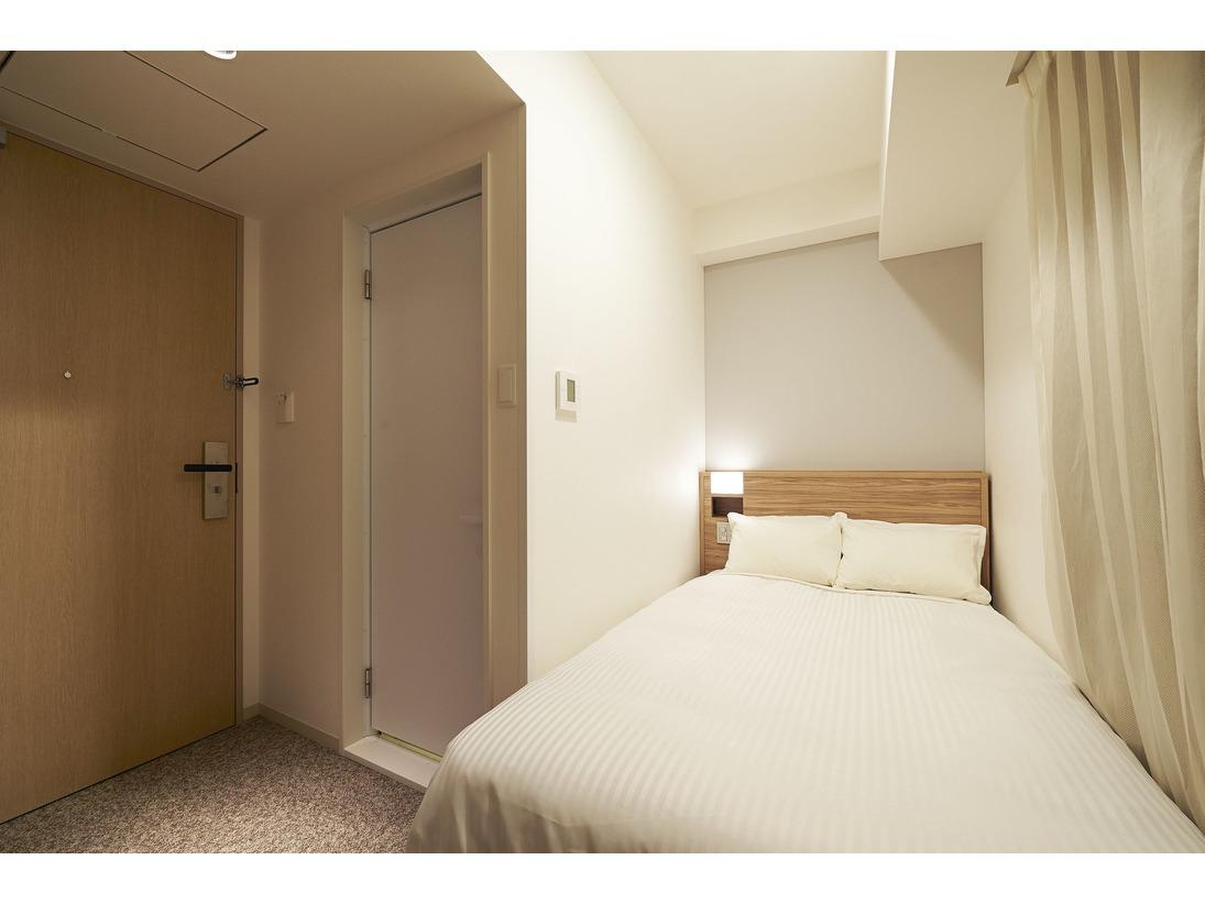 コンパクトシングル(11.2平米~)・サータ社製ベッド(100cm)・加湿空気清浄機・wifi完備