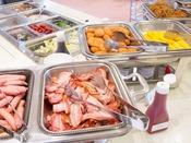 朝食 洋食コーナー(一例)
