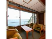 太平洋の海がご覧頂けるお部屋