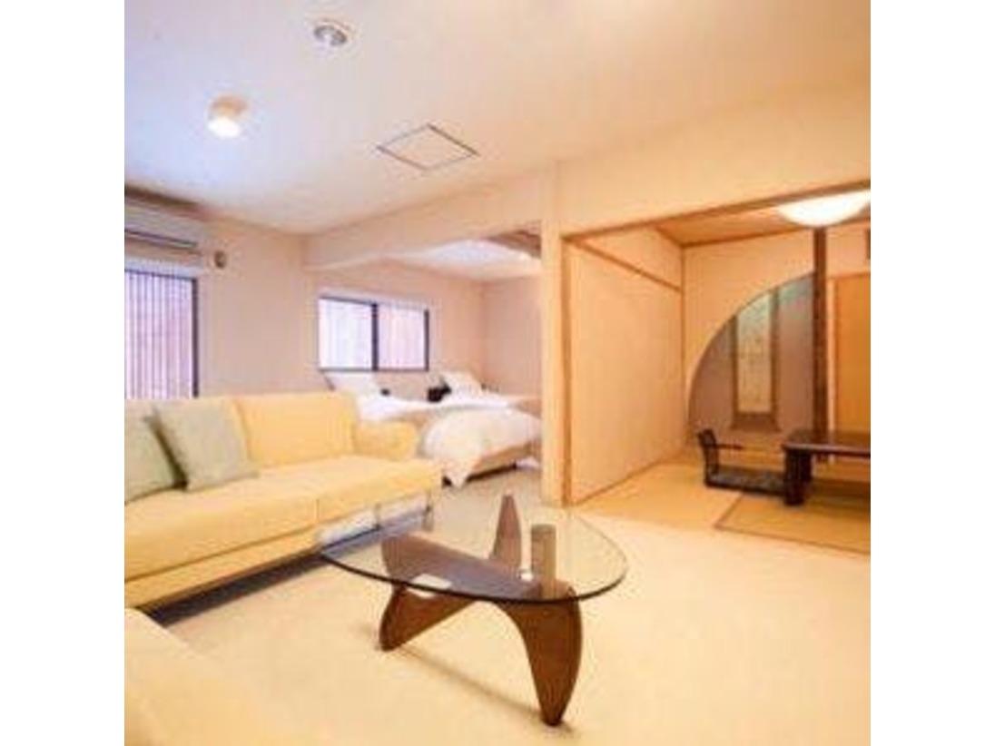 【内湯付客室】かえで和室6畳+和室4.5畳+ベットルーム