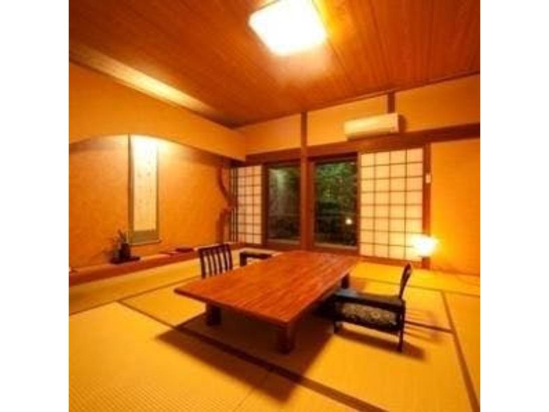 【内湯付客室】くすのき和室10畳+4.5畳